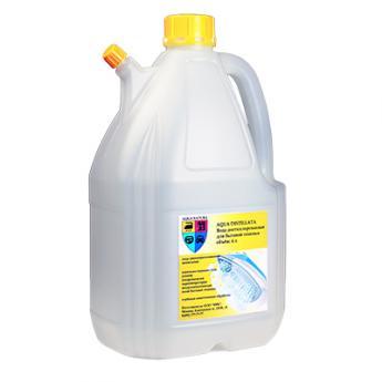 Вода дистиллированная AQUA DISTILLATA - 4 литра